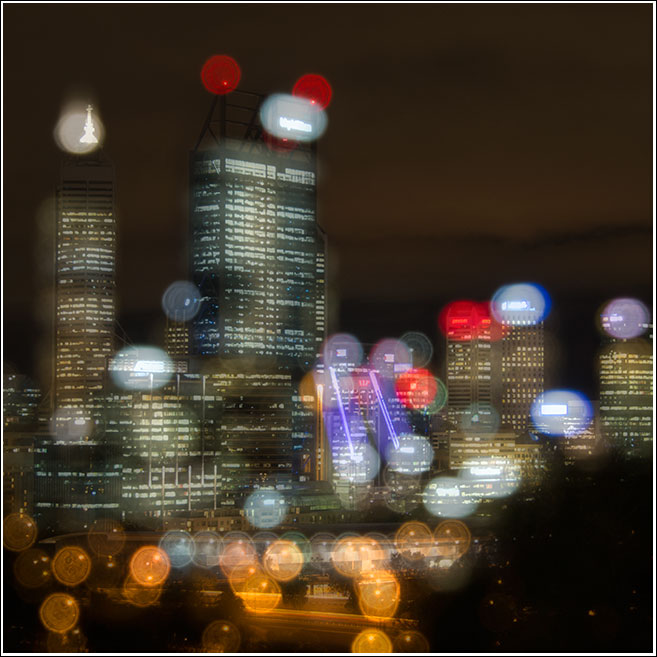 A rainy night in Perth 'seems like its rainin all over the world' with apologies to Martha Reeves