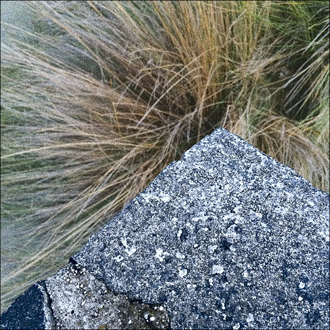 Granite and grass